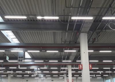 Reducerea costurilor cu energia in urma modernizarii iluminatului industrial