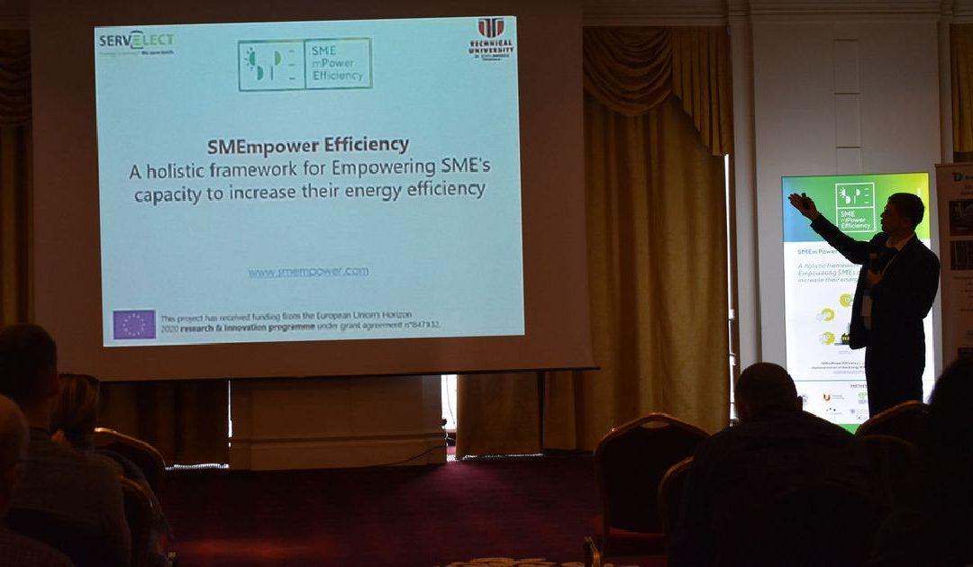 """Seminarul """"Bariere si solutii pentru implementarea eficientei energetice"""" desfasurat in cadrul proiectului SMEmPower Efficiency"""