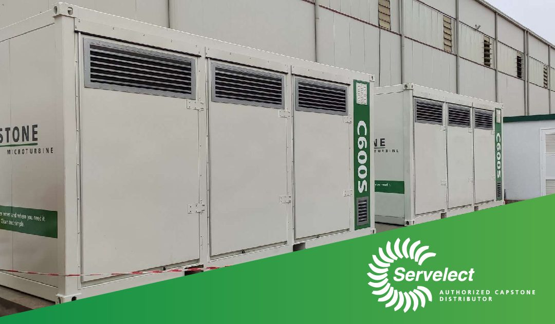 Turbinele de cogenerare Capstone au ajuns la Cemacon!