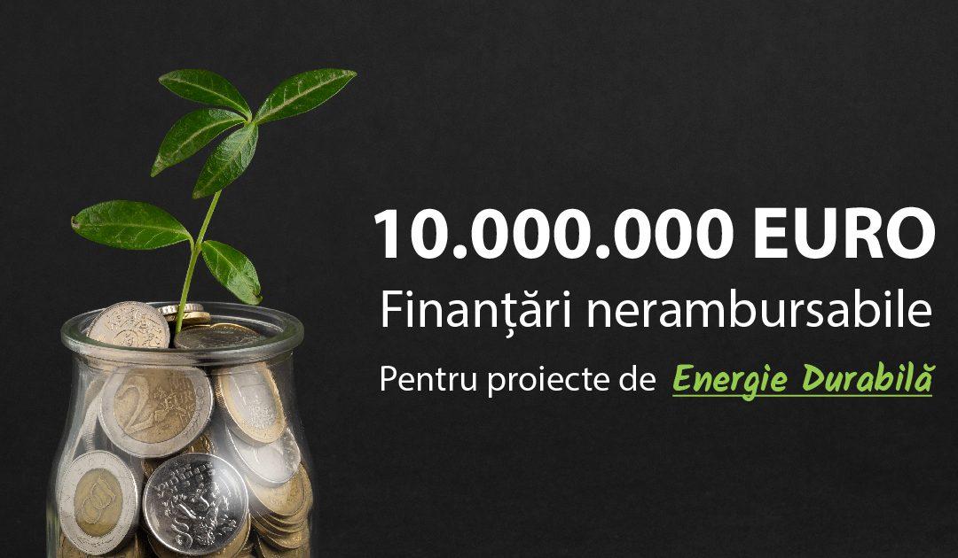 Peste 10 milioane de euro fonduri nerambursabile atrase pentru Beneficiarii nostri