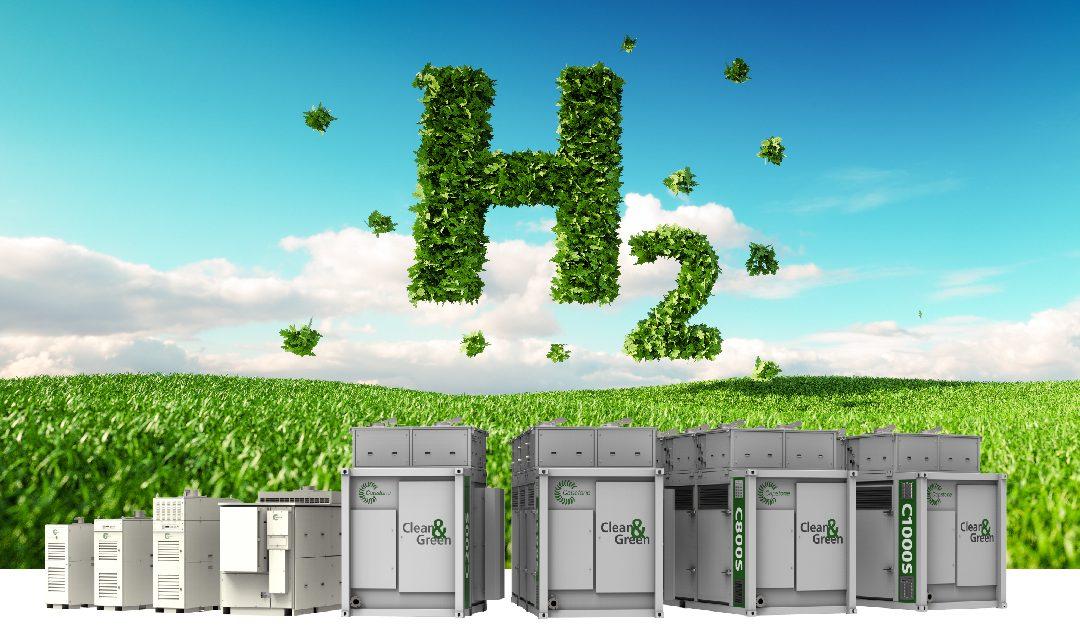 """Hidrogenul – combustibil """"verde"""" pentru turbinele de cogenerare Capstone"""