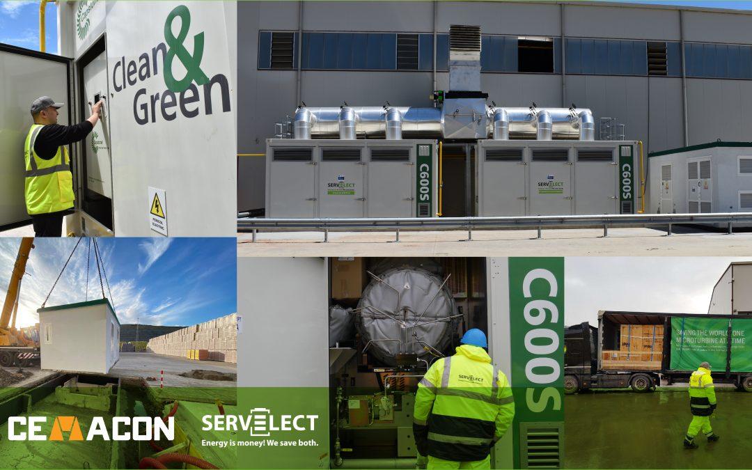 Cemacon finalizeaza cu succes implementarea centralei de cogenerare de inalta eficienta alaturi de Servelect