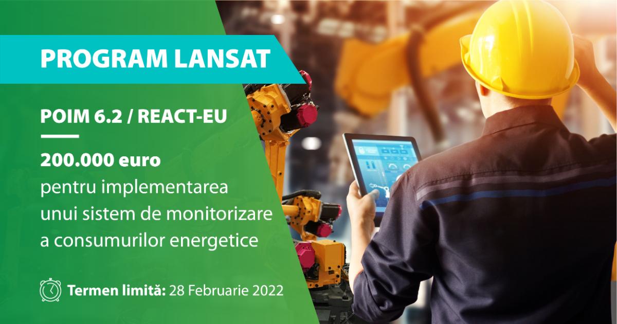 poim 6.2 monitorizare consumuri energetice